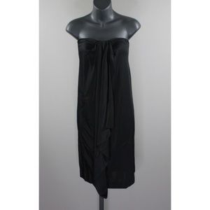 NEW! BALENCIAGA DRAPED FRONT DRESS!